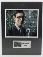 "GOTHAM photo signed by CORY MICHAEL SMITH ""Riddler"", COA. matted w/ name plate"