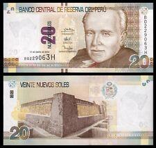 Peru  20 Nuevos Soles 17-1-2013  Pick 188  SC = UNC