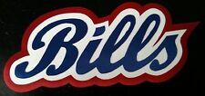 "HUGE BUFFALO BILLS IRON-ON PATCH - 4"" x 9.5"""