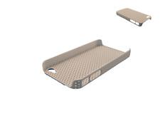 Hülle Schutz- IPHONE 4 4G Silikon Steif Anti-rutsch Langlebig Design