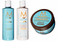 Moroccan Oil Shampoo + Conditioner + Hydrating Treatment