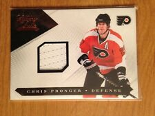 10/11 Luxury Suite Chris Pronger game used jersey 236/599 Flyers