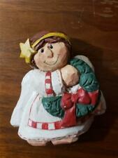 Eddie Walker Midwest of Cannon Falls Christmas Angel Figurine magnet