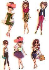 La Petites Girlfriends Stickers Paper Studio Planner Scrapbooking Embellishment
