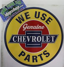 Removable peel stick Wall art Chevy Chevrolet sticker decal genuine parts garage