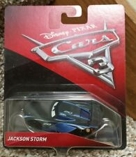 Disney Pixar Cars 3 Jackson Storm (Nex Gen Race Car) NEW MISP SMOOTH REAR Window
