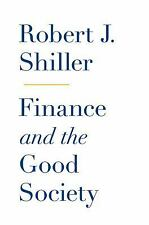 Finance and the Good Society, Shiller, Robert J., Book
