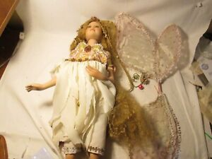 """Show Stoppers Florence Maranuk MIRACLE Fairy Doll 26"""" Porcelain"""
