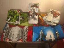 4 Piece Twin Sized Children's Bedding Set Marvel's Avengers Assemble