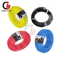 7X32 24AWG MIL-W-76D TYPE MW BLUE STRANDED HOOKUP WIRE 100 FT ROLL 1000V 80C