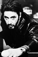 Al Pacino Carlito'S Way Playing Pool B/W Poster Print