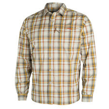 Sitka Globetrotter Shirt LS Sand Plaid Large (discontinued)