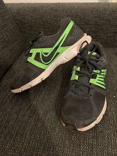 Herren Sneaker Sport Schuhe Nike Grün Grau Gr 44