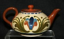 More details for small motto ware teapot - 'du'ee 'ave a cup tiz purty gude' - aller vale