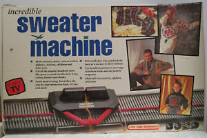 Bond Incredible Sweater Knitting Machine Unused In Original Box As Seen on TV