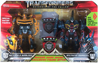 Transformers ROTF Battlefield Bumblebee&Infiltration Soundwave Action Figure NEW