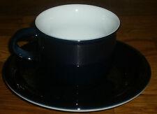 1 Kaffeetasse + Untertasse  Arzberg   DAILY  COLORI  Dunkelblau   NEU