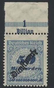 D.Reich Dienst Nr. 88 P OR B postfrisch / **, Oberrand Platte (41723)