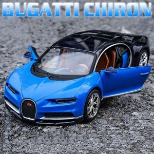 Maisto For BUGATTI Chiron 1:24 Supercar Diecast Alloy Sports Car Model Men Gift