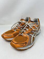 Asics Gel DS Sky Speed Men's Size 10 Running Shoes T0H1N Orange White