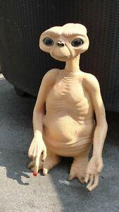 E . T  Figur Der Außerirdische Skulptur Groß Werbefigur Lebensgroß Schöne Rep