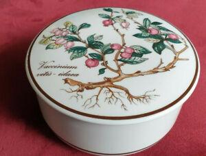 "Villeroy & Bosch Large ""Botanica"" Trinket Box"