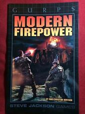 GURPS Modern Firepower - Steve Jackson Games - NEW