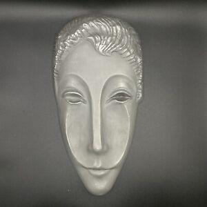 Letitia Metal Woman's Stylized Face Mask Evaline Sellors & Dewitt Mckinley MCM