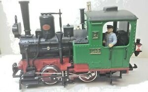 LGB 2020 Red/Green Stanza 0-4-0 Steam Locomotive #2 NO BOX Works Great! G Scale