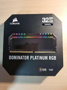 Corsair Dominator Platinum RGB DDR4 8GBx4 32GB 3200MHz