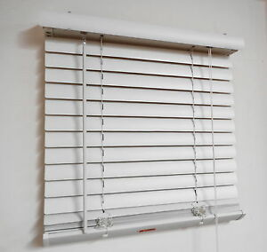 New 50mm eco-lite(pvc) venetian blind; Colour:Ivory  (Sell-out Special)