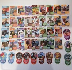 Sainsburys Disney Pixar Marvel Star Wars Heroes On a Mission Cards. 2021 Cards