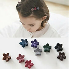5Pcs Mini Wintersweet Flower Hair Clip Kid Hairstyle Wedding Birthday Accessory