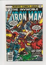 The Invincible Iron Man #106 F 1977 Marvel comic