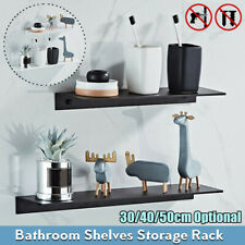 Space Aluminum Bathroom Shower Shelf Storage Rack Wall Mounted Holder