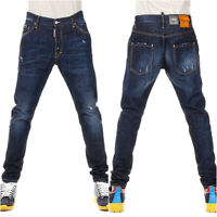 ORIGINAL DSQUARED2 CLASSIC KENNY FIT DARK BLUE JEAN SIZE 48 S71LA0940 FW 2015