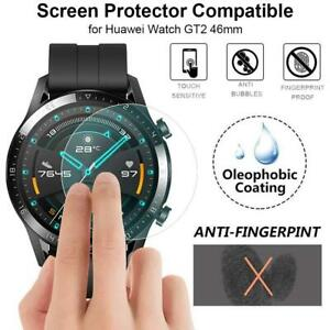 2 x For Huawei Watch GT 2 46mm Tempered Glass Screen Protector Cover