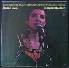 JEANNIE LEWIS LOOKING BACKWARDS TO TOMORROW US PRESS '75 MAINSTREAM 417 EX+