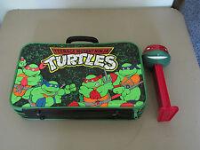 TMNT Teenage Mutant Ninja Turtles 1989 Childrens Luggage + Pez