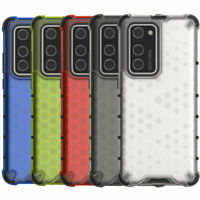 For Huawei P40 Lite Pro Plus Shockproof Matte Honeycomb Rugged Armor Case Cover