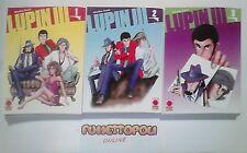 LUPIN III MONKEY PUNCH Serie 1/15 1^ ediz. PLANET MANGA Perfetti NUOVI