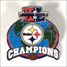 Pittsburgh Steelers Super Bowl XL Champions Pin