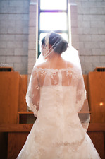 Princess Diaries inspired wedding dress size 6