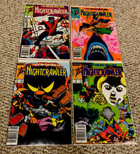 NIGHTCRAWLER Comic Lot (Marvel Comics) 1 - 4 Complete Lim Series Run 1985, X-Men