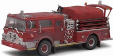 Code 3 FDNY Mack Valiant Service Engine #75 Weathered Fire Truck 1/64 NIB +
