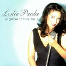 Leslie Paula - Te Quiero: I Want You [CD]