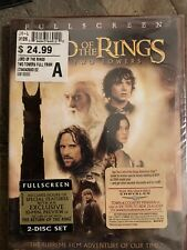 The Lord of the Rings: The Two Towers - Dvd (2003, 2-Disc Set, Full Screen) New