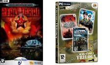 Stalingrad & Krieg Spiele Trilogie (D-Day-Mockba To Berlin-Wüste Ratten VS Afrika