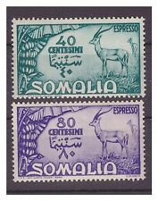 SOMALIA AFIS 1950 - ESPRESSI ANTILOPE  Serie  Nuova **