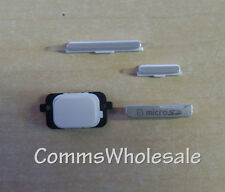 Samsung Galaxy Gio GT-5660 Replacement Power, Volume, Home, Button Pack White